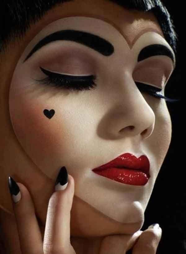170 best Fesches Halloween Make up + Fasching + Karnelval images ...
