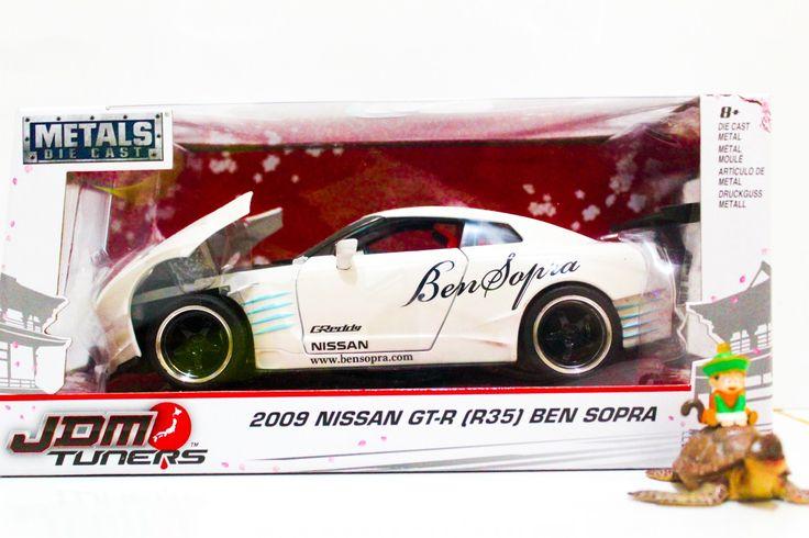 بسم الله الرحمن الرحيم Hello guys!!! JDM Tuners - 2009 Nissan GTR R-35 Ben Sopra 1:24 Scale Diecast Metal Only IDR 475.000!!!! Ready Stock!!!! Grab it fast!!! Contact us by WA: +628116002365 or Check our bio!!! #jada #jadaindonesia #jadatoys #jadatoysindonesia #jdm #jdmtuner #nissan #nissangtr #bensopra #bensupra #toy #fastandfurious7 #merchandise #collection #collector #car #diecast #diecastcars #collectorsitem #metal #metaldiecast #japan