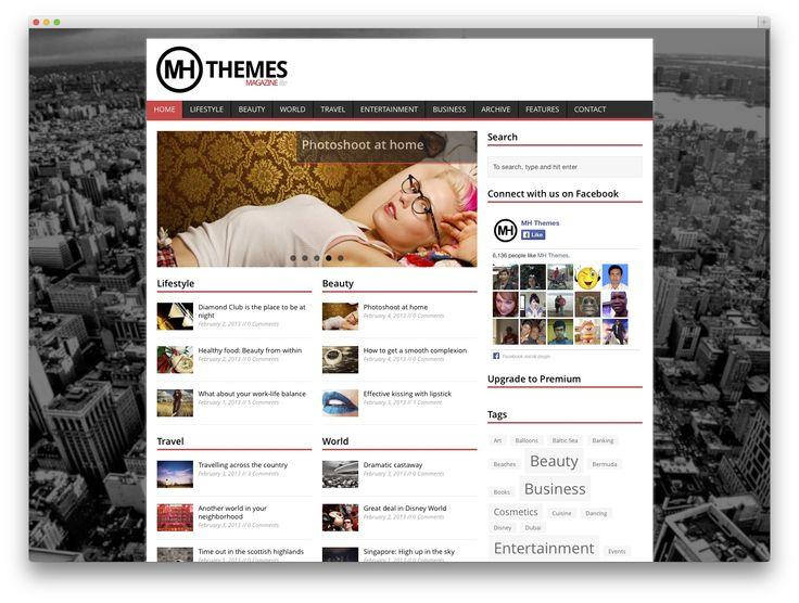 mh-magazine news theme