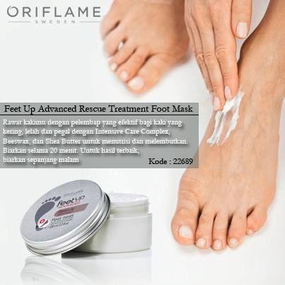 kaki terasa pegal setelah seharian berjalan   dan atau memaki sepatu tinggi, oleskan feet up advanced dari oriflame untuk mengurangi rasa pegal pada kaki lalu biarkan sepanjang malam. bangun terasa lebih ringan