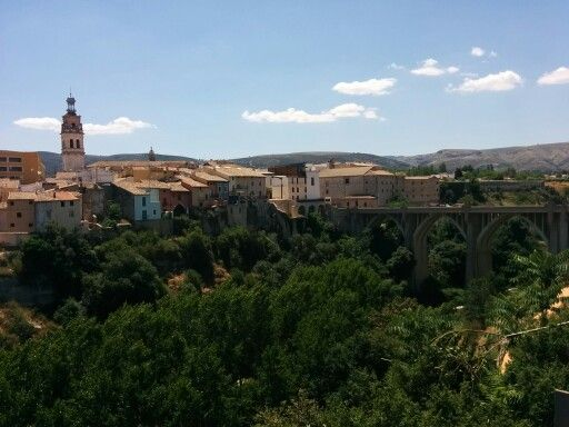 Santa Maria Bridge and #Ontinyent Old neighbordhood.