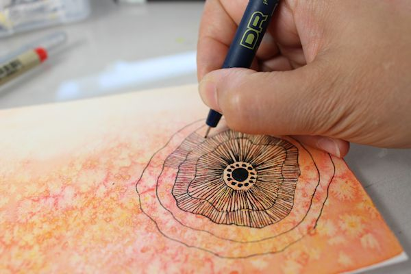 Fun techniques you can try to make watercolor and mixed media postcards | ARTiful: painting demos