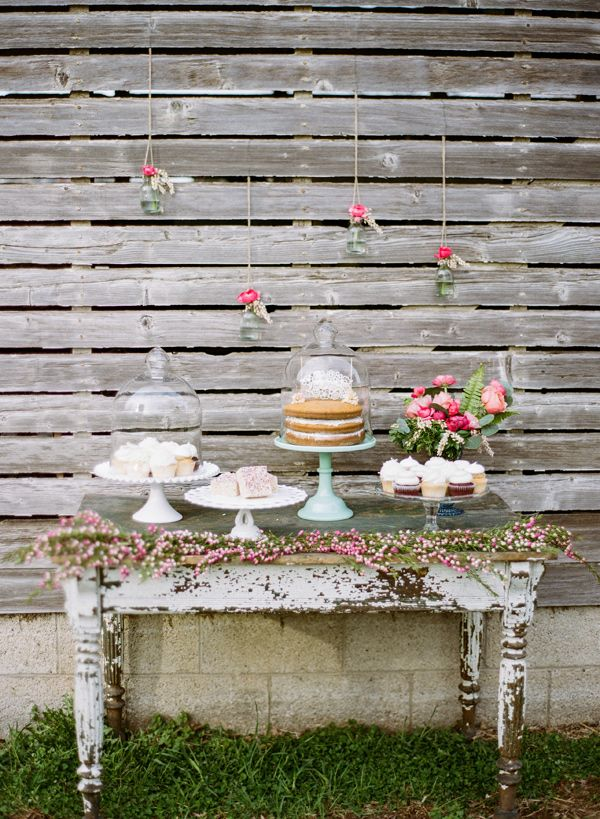 Dessert Table Stonebrook Farms Bohemian Wedding
