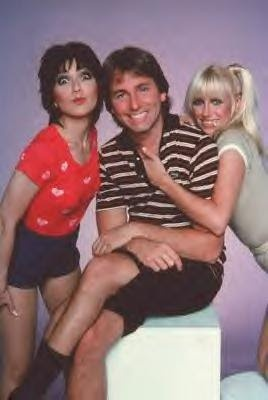 "Janet, Jack and Chrissy from ""Three's Company"" a funny sit-com from the '70's. John Ritter - RIP"