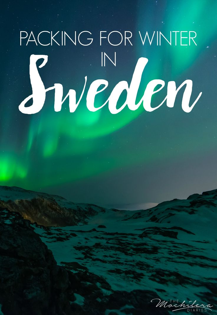 Check out my packing list for winter in Sweden, from luggage and outerwear to clothes, accessories, and electronics.