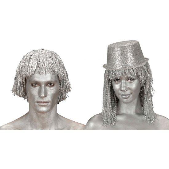 Zilveren make-up tube  Make-up tube in de kleur zilver. Met deze zilveren make-up tube kunt u uw hele gezicht zilver schminken. INhoud: 28 gram.  EUR 2.99  Meer informatie
