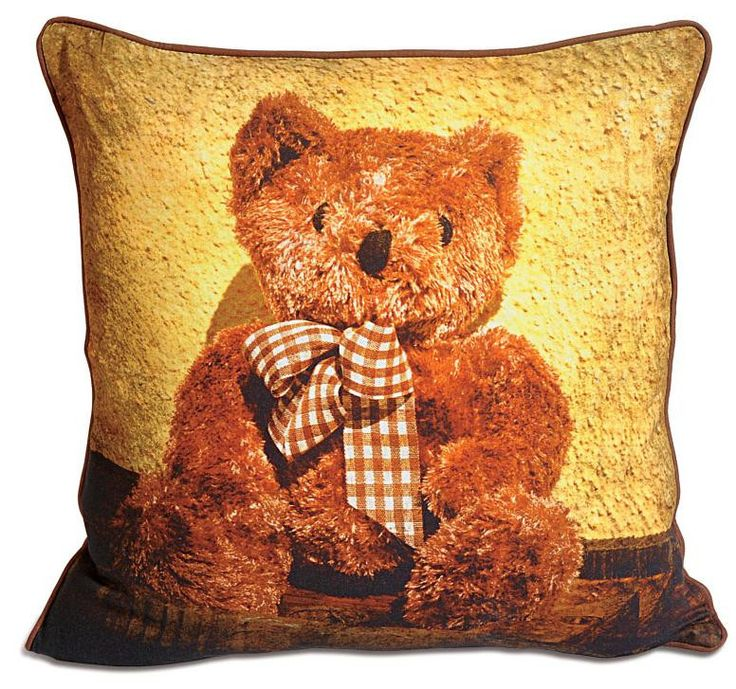 TEDDY KIDS CUSHION COVER - FlickDeal