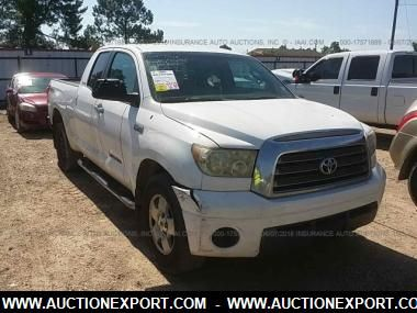 2007 TOYOTA TUNDRA DOUBLE CAB for $5000
