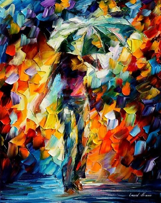 UMBRELLA - LEONID AFREMOV by *Leonidafremov on deviantART ...