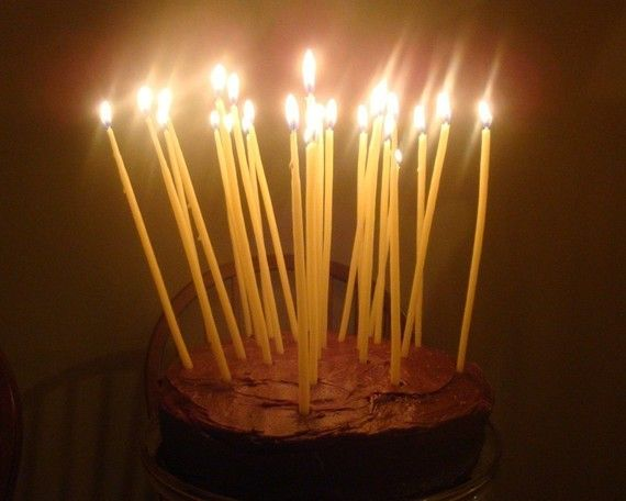 $12 Beeswax Birthday Candles