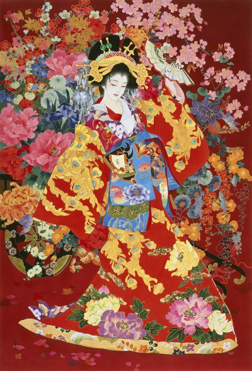 Haruyo Morita - geisha