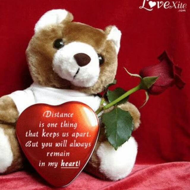 TEDDY WITH HEART TEDDY BEARS Pinterest