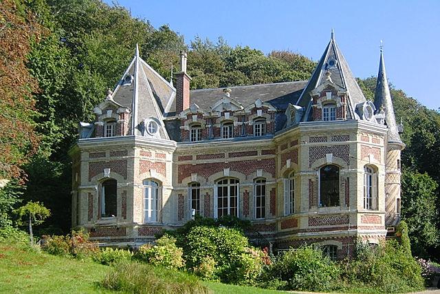 Château des Aygues (Etretat) © Kiwaner