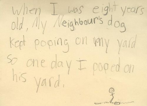 Kids say the darndest things! :P