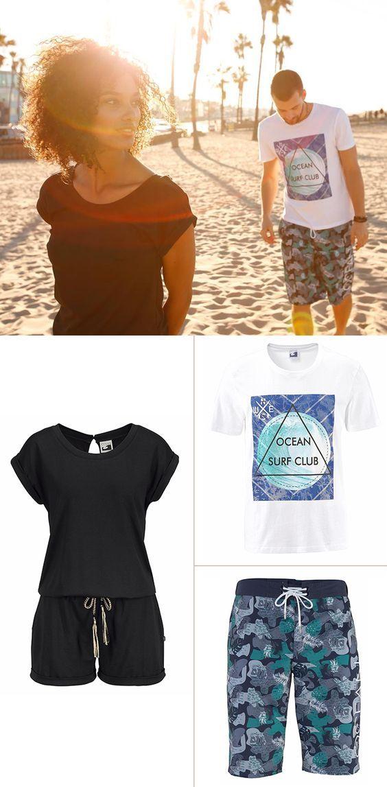 Die ersten Sonnenstrahlen machen Lust auf mehr. Und Meer! Geh doch jetzt schon mal auf eine Reise im Kopf und fühle mit diesem Outfit die Sommervibes der angesagten Strände unserer Welt. Kannst du das Salz schmecken?