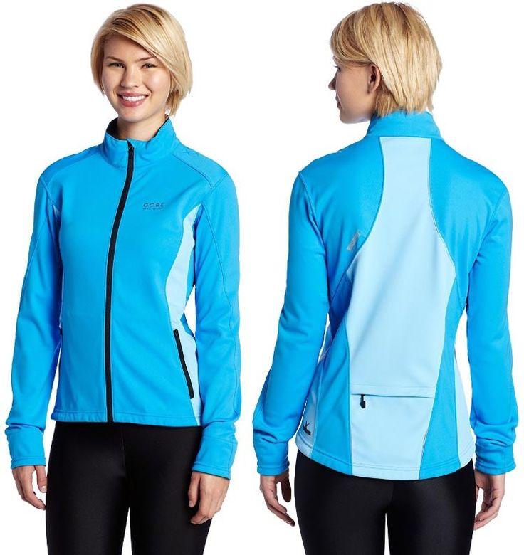 Best Windproof Cycling Jackets: Gore Bike Wear Women's Alp-X Windstopper Windproof Jacket woman back and front 750(1)