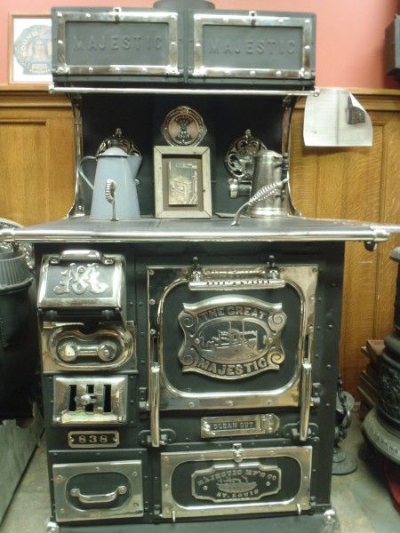 Antique Stoves Bucks Stove Palace Antique Stoves I