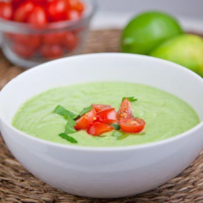 Chilled Cucumber Avocado Soup: Soups, Food, Cucumber Avocado, Cucumer Avocado, Savory Recipes, Chilled Cucumer, Avocado Soup