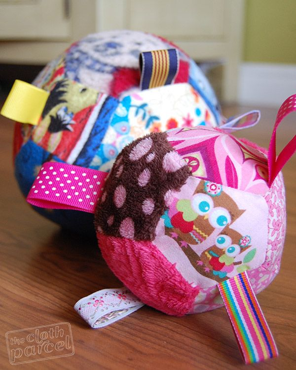 How To Make Little Pentagon Puzzle Ball Toys Sewing