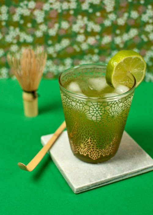 Matcha Lemonade Recipe on Volutes Tea !  Recette de la Limonade au Matcha ! #Recipe #Recette #Matcha #Limonade #Lemonade #Matcha Time #Summer