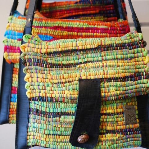 Bag from Koguis, ethically made in Colombia.