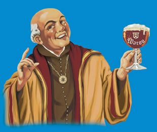 Monks have had quite a history in the world of beer brewing.  Many breweries in Belgium are or have been tied to abbeys and monks.