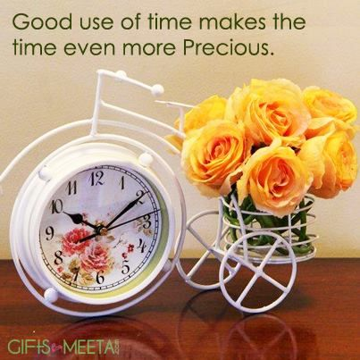 A beautiful table clock of 11x9 inches and flower bunch combo for your beloved. http://www.giftsbymeeta.com/An-Amusing-Clock-Combo