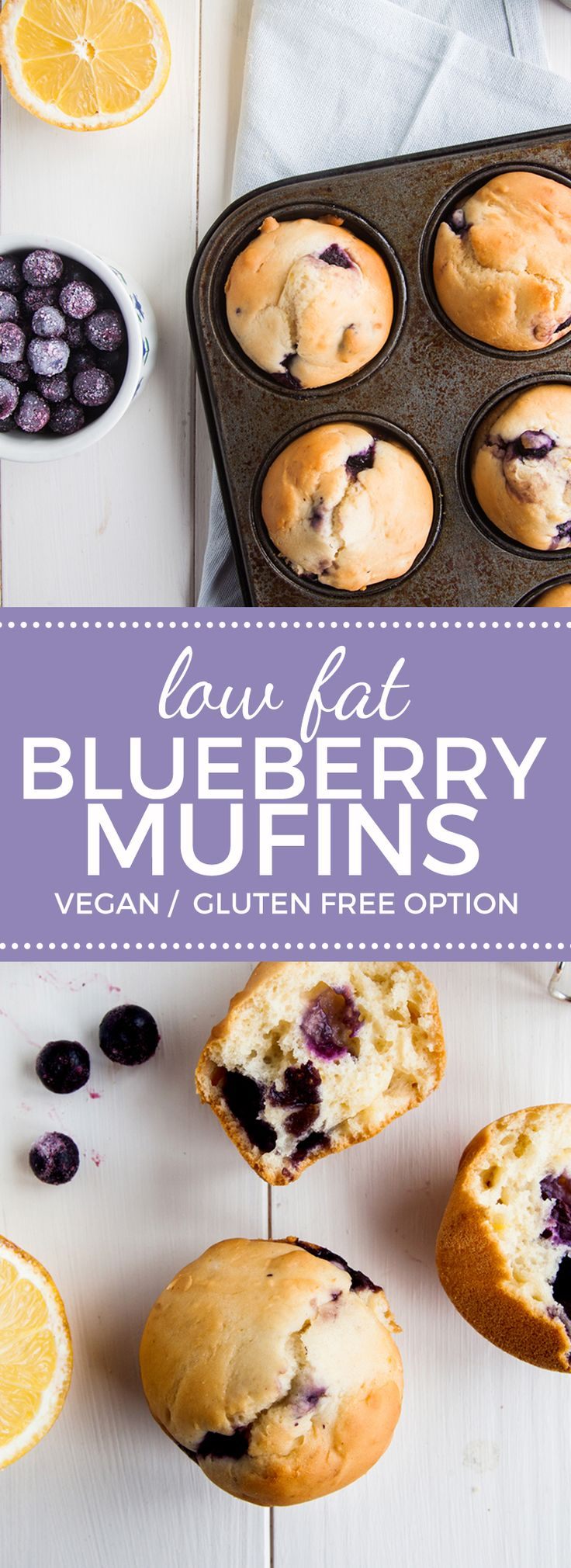 Low-Fat-Lemon-Bluberry-Muffins-(Vegan + GF Option)