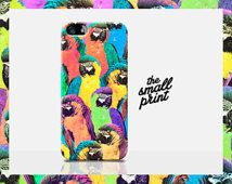 TROPICAL iPhone 5c Case, Parrot iPhone 5c Case, new iPhone 5c Case, Colourful iPhone Case, Retro iPhone case, Tropical print iPhone case