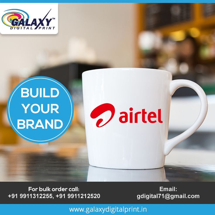 Let your coffee mug exhibit your brand.  For bulk orders contact us at gdigital71@gmail.com  #CustomPrinting #CustomMerchandise