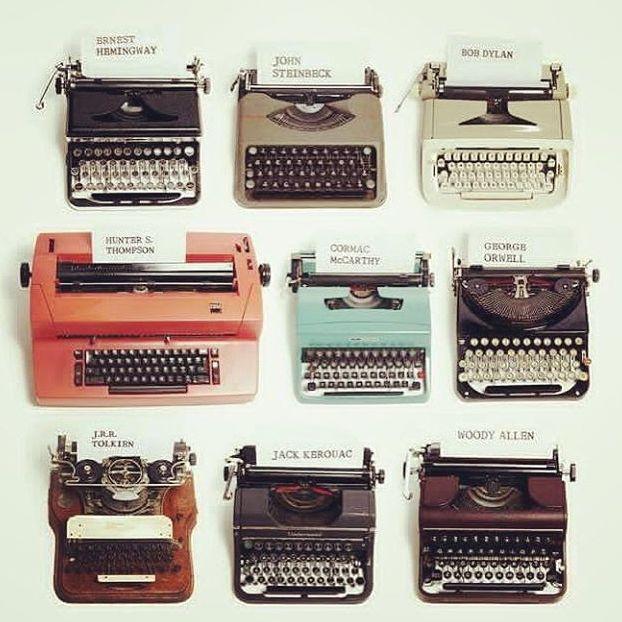 Ad ognuno la sua macchina da scrivere