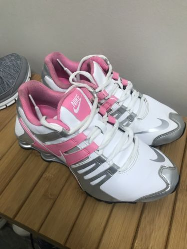 0ebf818c1ad Details about Nike Shox Black Hot Pink Athletic Running Sneakers ...