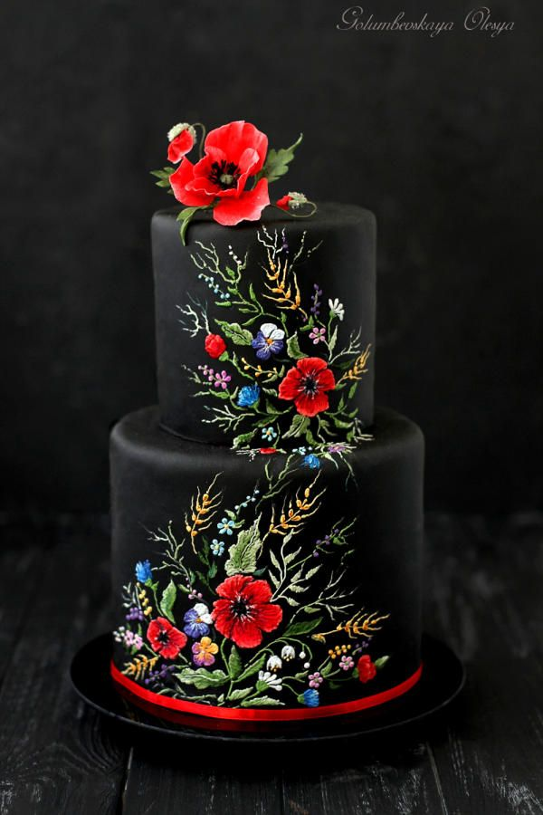 Ukrainian style cake by Golumbevskaya Olesya