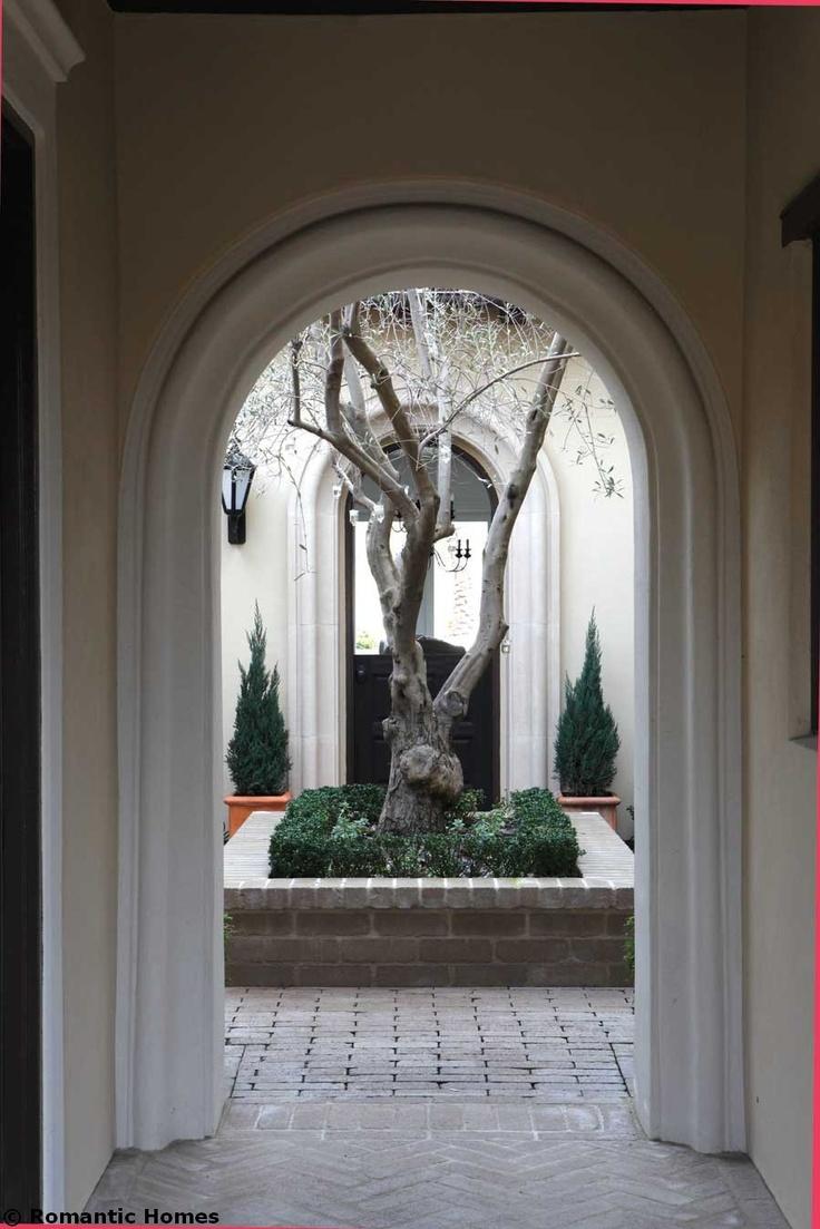 Beautiful Courtyard entry.