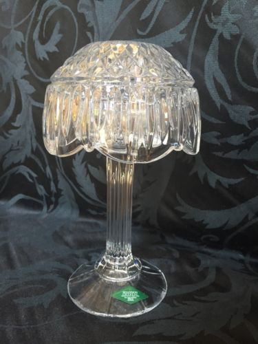 Shannon Crystal 24 Lead Crystal Retro Candle Lamp By Godinger New In Box Etsy Ebay