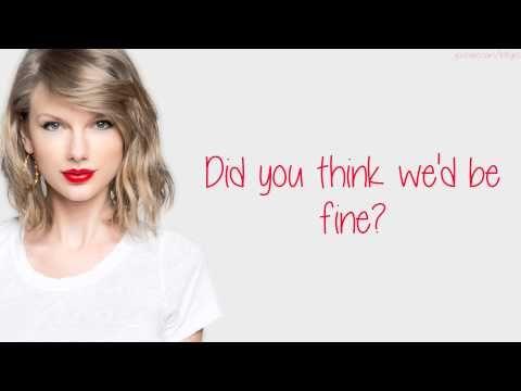 Taylor Swift – Bad Blood (Lyrics) - YouTube