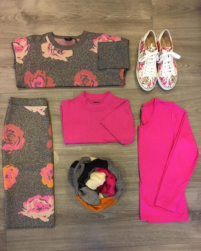 Pink Mania Gode kvaliteter og herlige farger fra @bittekairand & @masaiclothing  Sneakers fra @laurabellariva  Du kan sikre deg alt på . #nyheter #fargerikt #klareforvår #merkevarer #kvalitet #utvalg #vihjelperdeggjerne #velkommentiloss #granpåhadeland