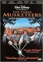 The Three Musketeers--with our hometown boy Chris O'Donnell!