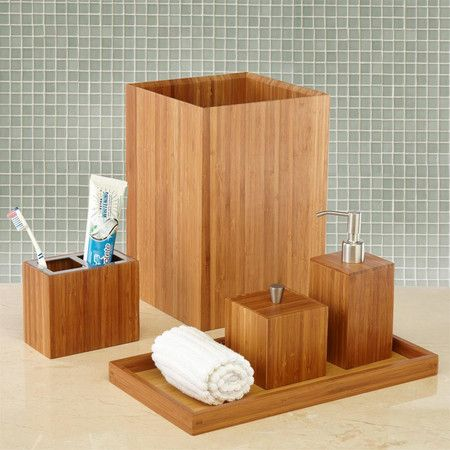 Die besten 25+ Asian bathroom accessory sets Ideen auf Pinterest - badezimmerm bel set holz