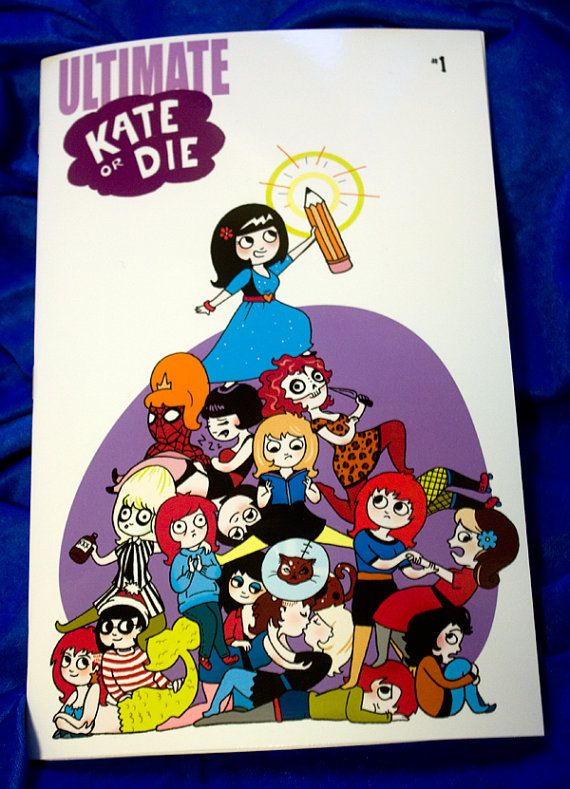 Ultimate Kate or Die by kateleth on Etsy  Man I really wanted this but it's sold out.