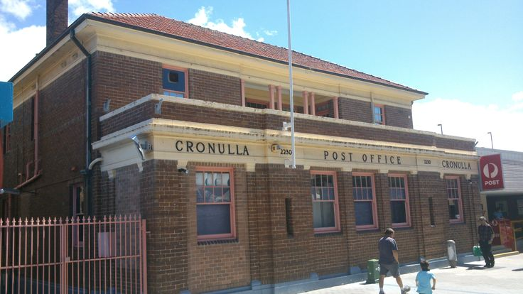 Cronulla, NSW old post office.