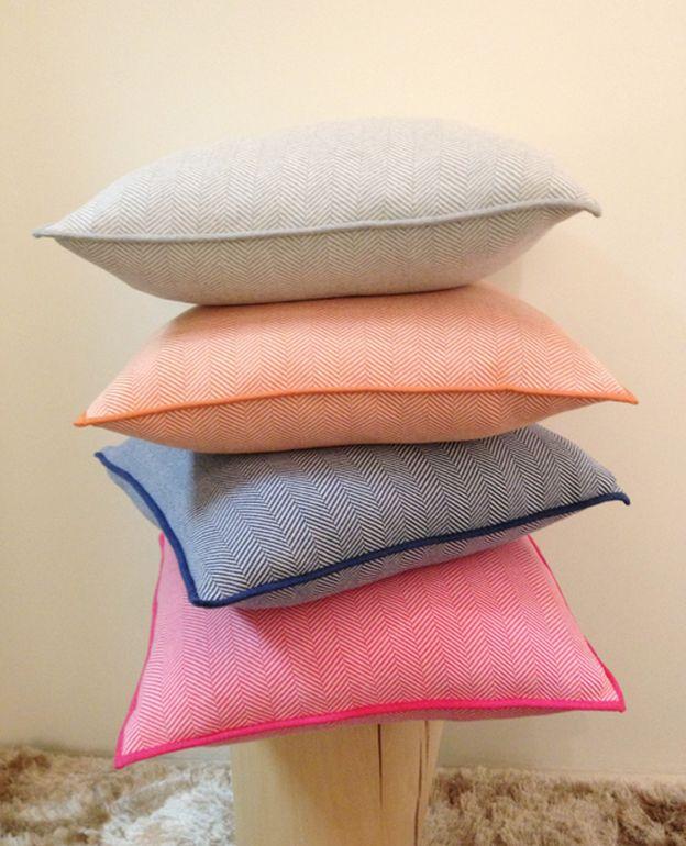 Fun Decorative Throw Pillows : Fun, colorful pillows from Rani Arabella Henry #throwpillow, #decorativepillow Decorative ...
