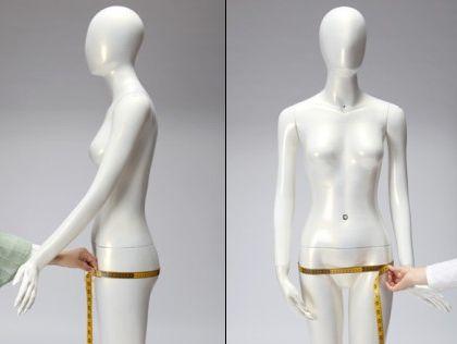 Tour de hanches: Cette mesure doit prendre le tour le plus large, avec le rebondis du fessier. Il est préférable de ce tenir les pieds joints (et sans chaussures) pour cette mesure.