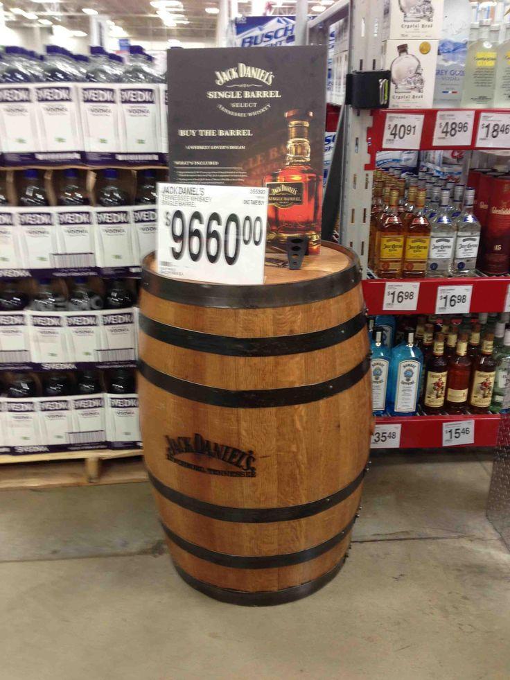 Sam's Club Selling A Whole Jack Daniel's Single Barrel
