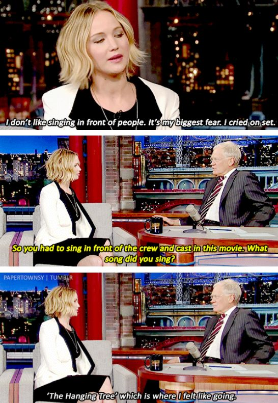 When she poked fun at herself and proved she has a sense of humour as well as every other positive personality trait. | 22 Times Jennifer Lawrence Was The Badass Woman You Aspire To Be