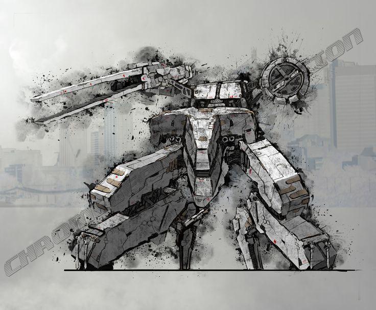 ArtStation - Metal Gear Rex, Al Santiago