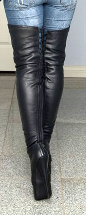 hot women and leather boots,redheads.