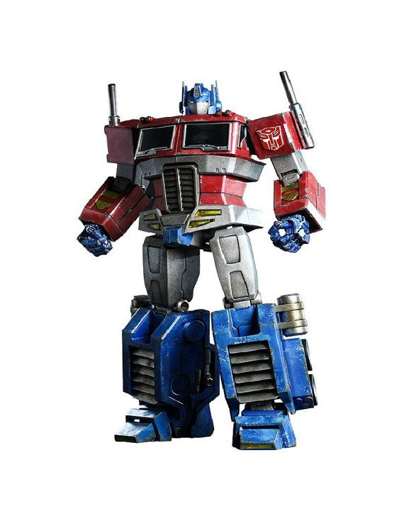 Transformers Optimus Prime Generation one by SAVVYCOUNTRYDESIGNS
