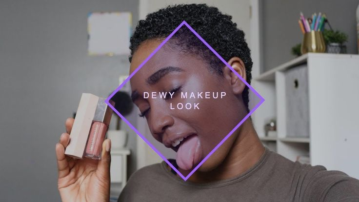 SUPER EASY NATURAL DEWY MAKEUP | FT. FENTY BEAUTY