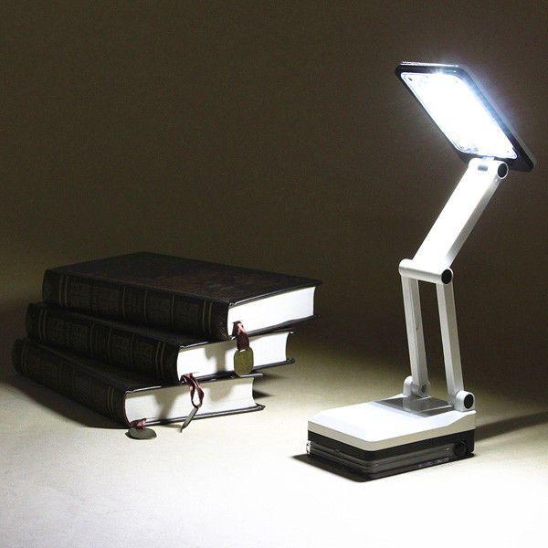 Led Portable Reading Desk Light Folding Rechargeable Table Study Travel Lamp  #Unbranded #Modern